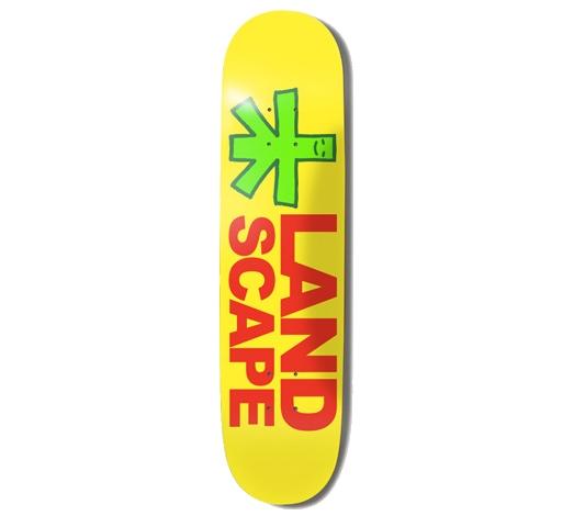 "Landscape Skateboard Deck - 7.75"" Team (Team Model Small)"