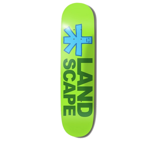 "Landscape Skateboard Deck - 8"" Team (Team Model Medium)"