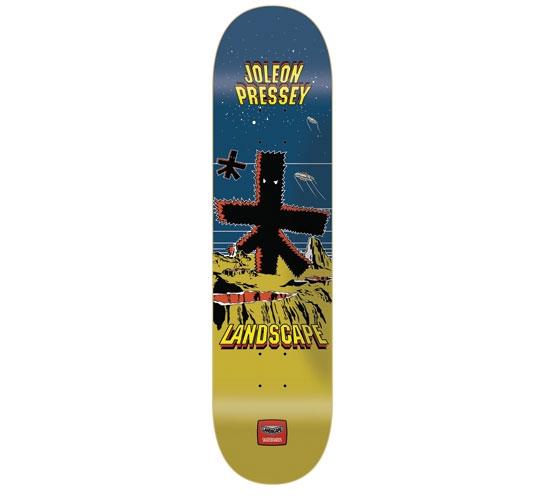"Landscape Skateboard Deck - 7.75"" Joey(Space Invaders)"