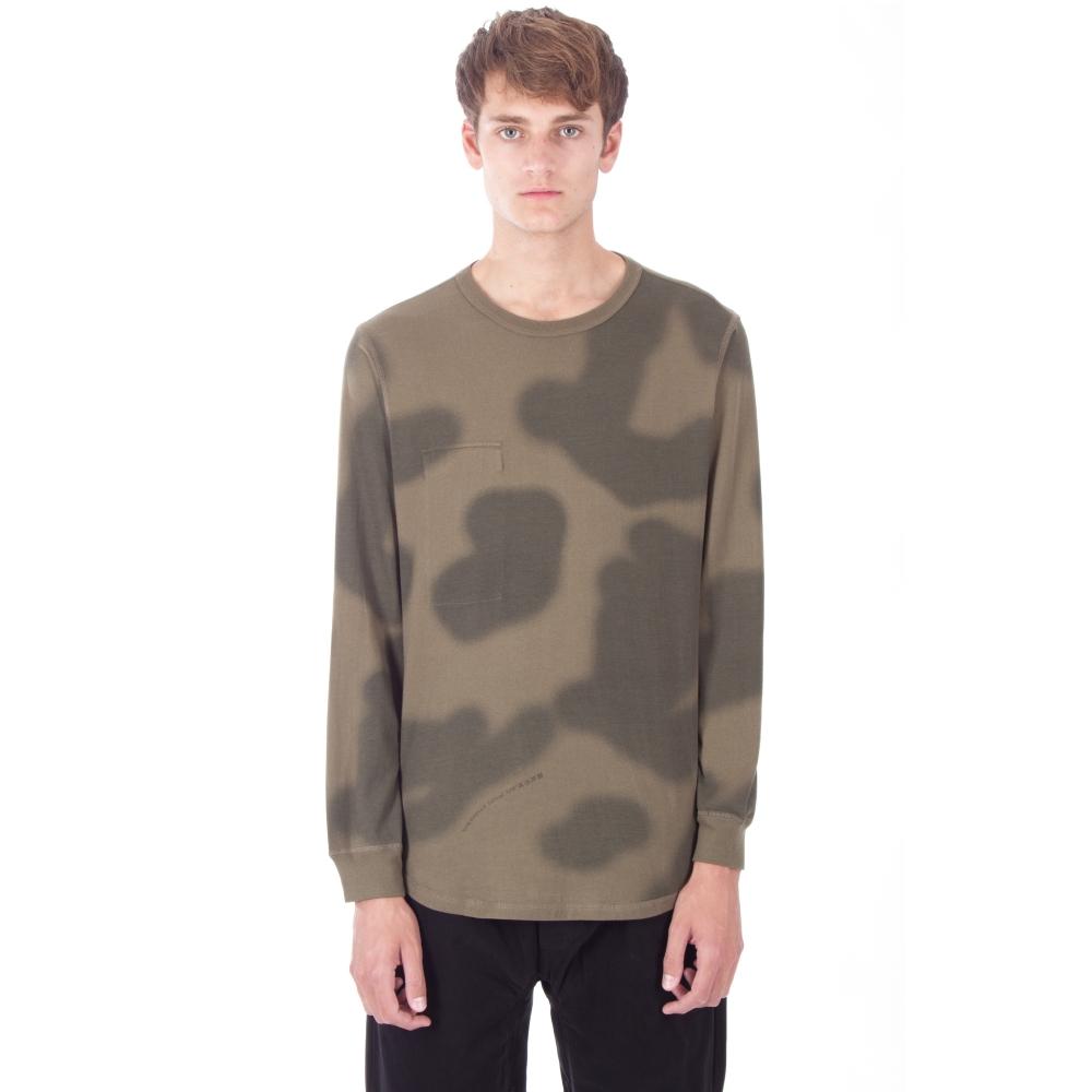 Maharishi Reversible Long Sleeve T-Shirt (Woodland British Haze)