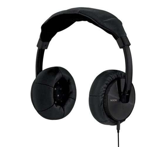 Nixon Master Blaster Headphones (All Black)