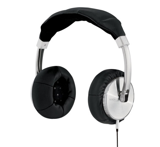 Nixon Master Blaster Headphones (Black)
