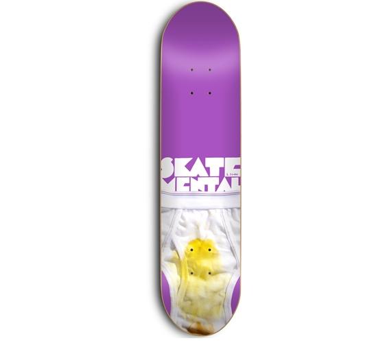 """Skate Mental Skateboard Deck - 8"""" Stabba (Backside)"""