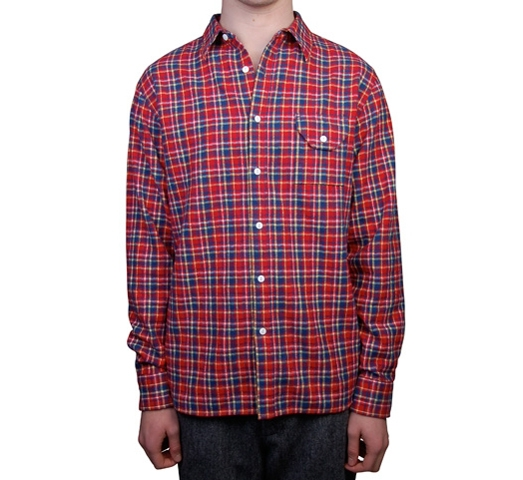 Penfield Men's Shirt - Merrimac (Red)