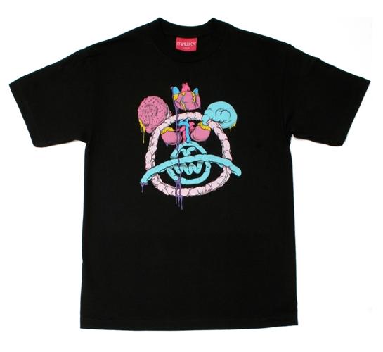Mishka NYC Mens T-Shirt - Intestine Mop (Black)