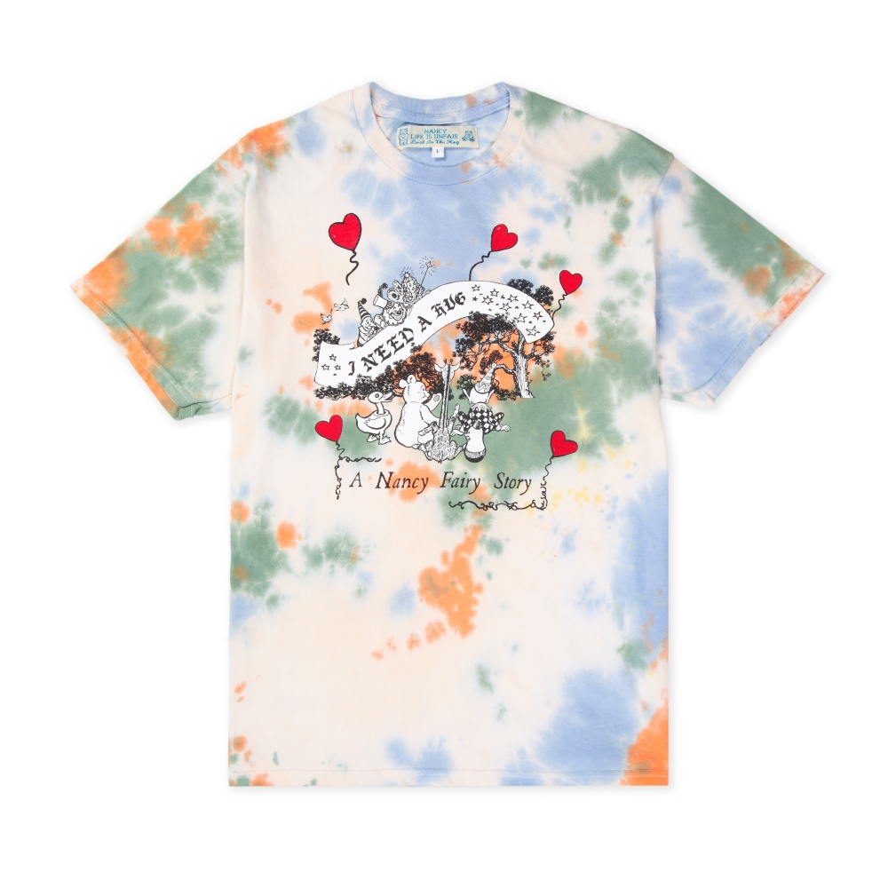 Nancy x Life Is Unfair Fairy Story T-Shirt (Tie Dyed)