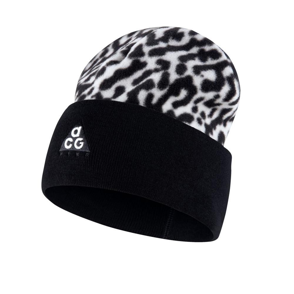 Nike ACG Fleece Beanie (White/Black)