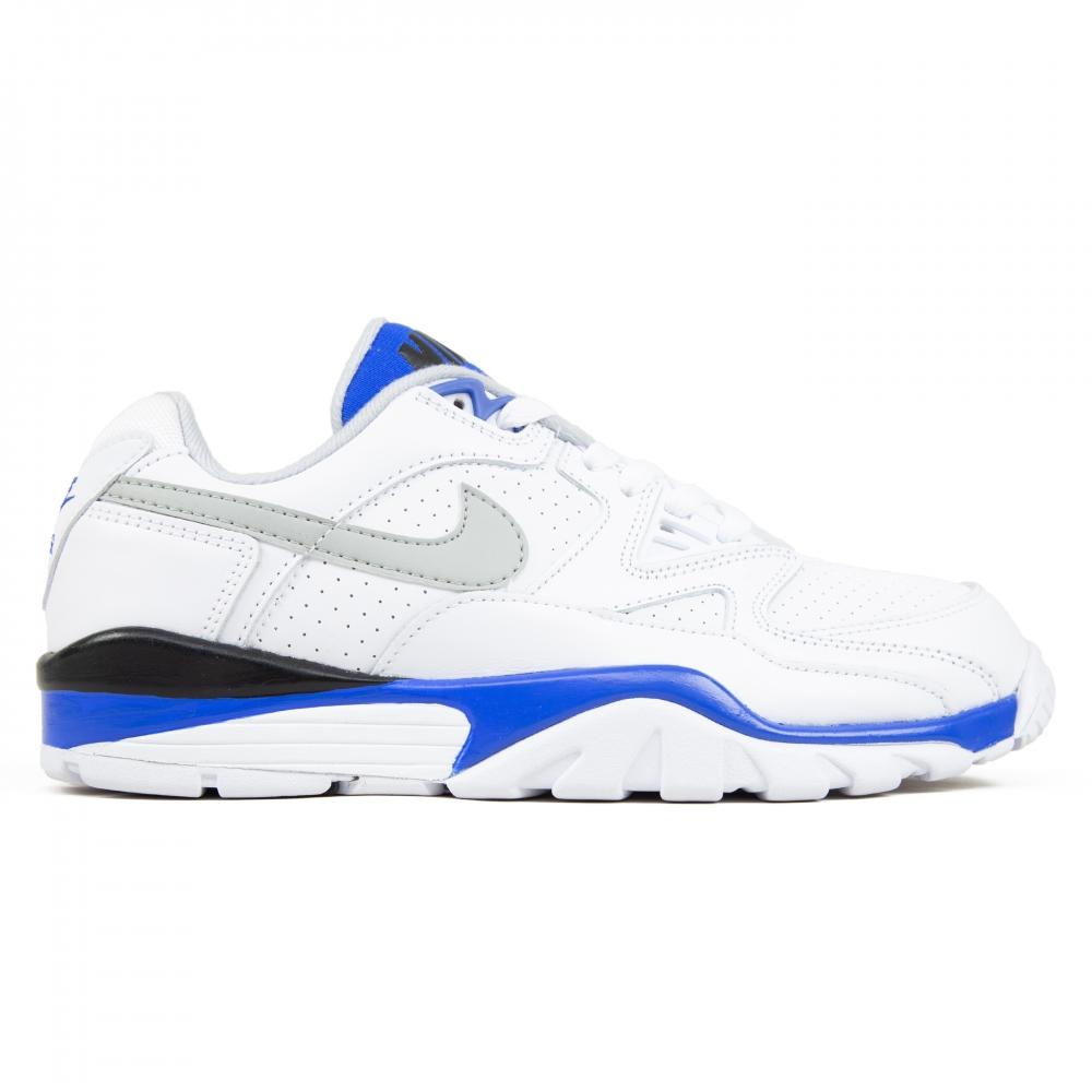 Nike Air Cross Trainer 3 Low (White/Lite Smoke Grey-Racer Blue-Black)