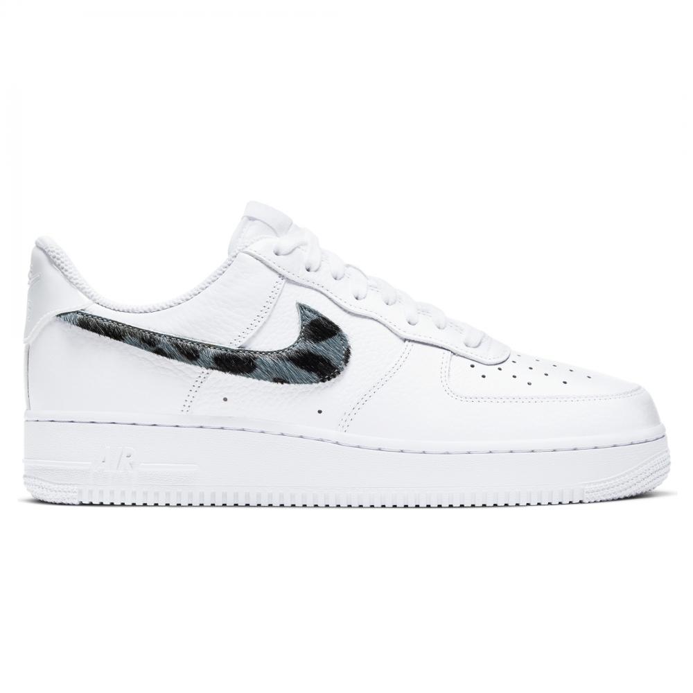 Nike Air Force 1 LV8 'Snakeskin' (White/Thunderstorm-White)