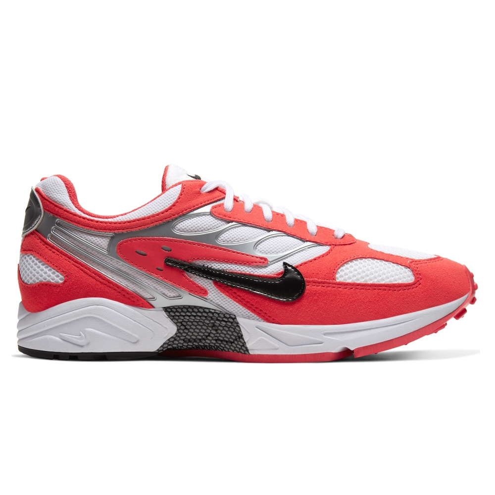 Nike Air Ghost Racer (Track Red/Black-White-Metallic Silver)
