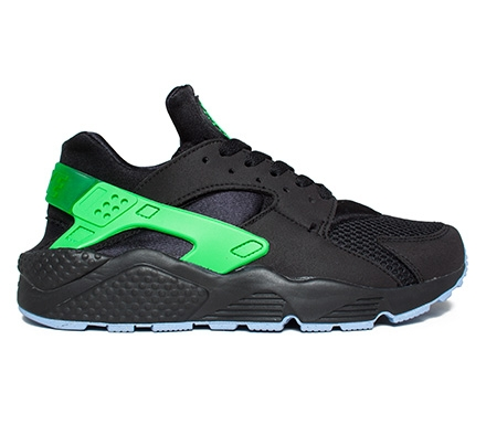 Nike Air Huarache Green And Black