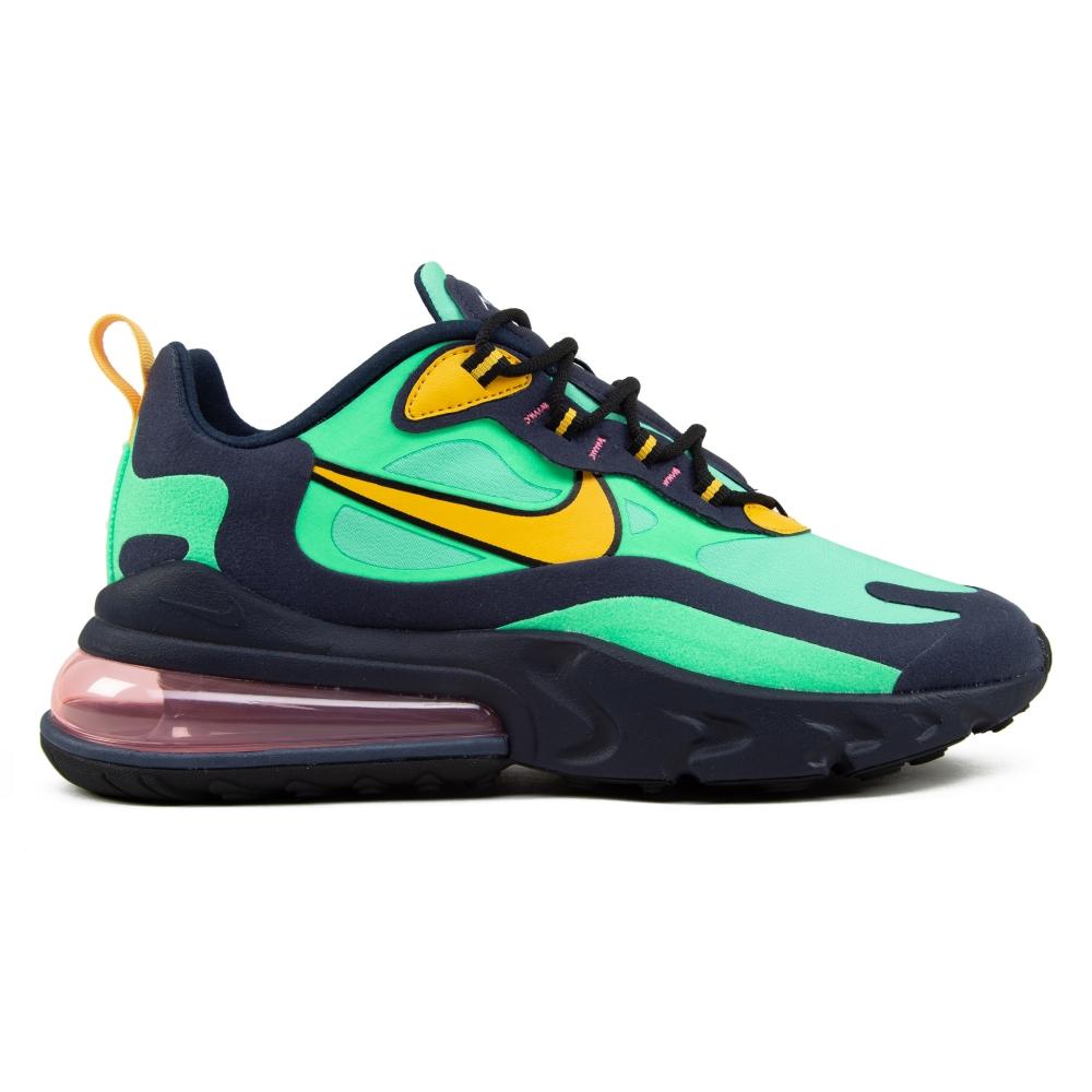 Nike Air Max 270 React 'Pop Art' (Electric Green/Yellow Ochre-Obsidian)