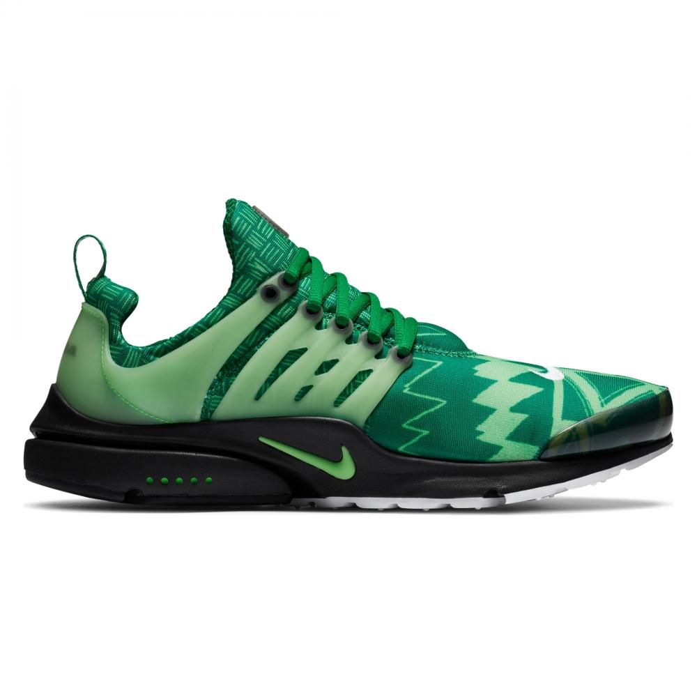 Nike Air Presto 'Naija' (Pine Green/Green Strike-Black-White)