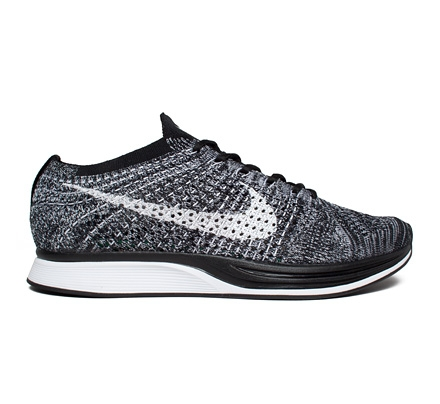 nike flyknit racer 39 oreo 2 0 39 black white consortium. Black Bedroom Furniture Sets. Home Design Ideas