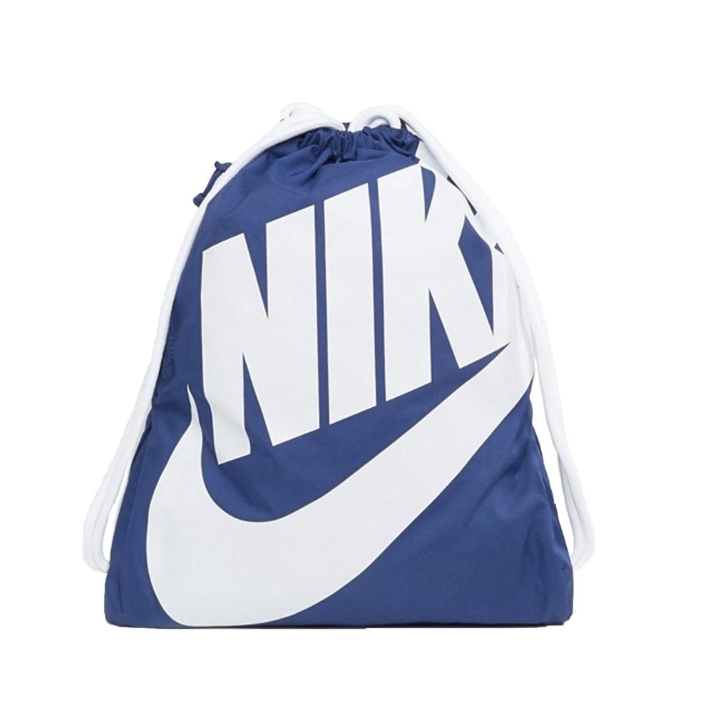 Nike Heritage Drawstring Backpack (Royal Blue/White)
