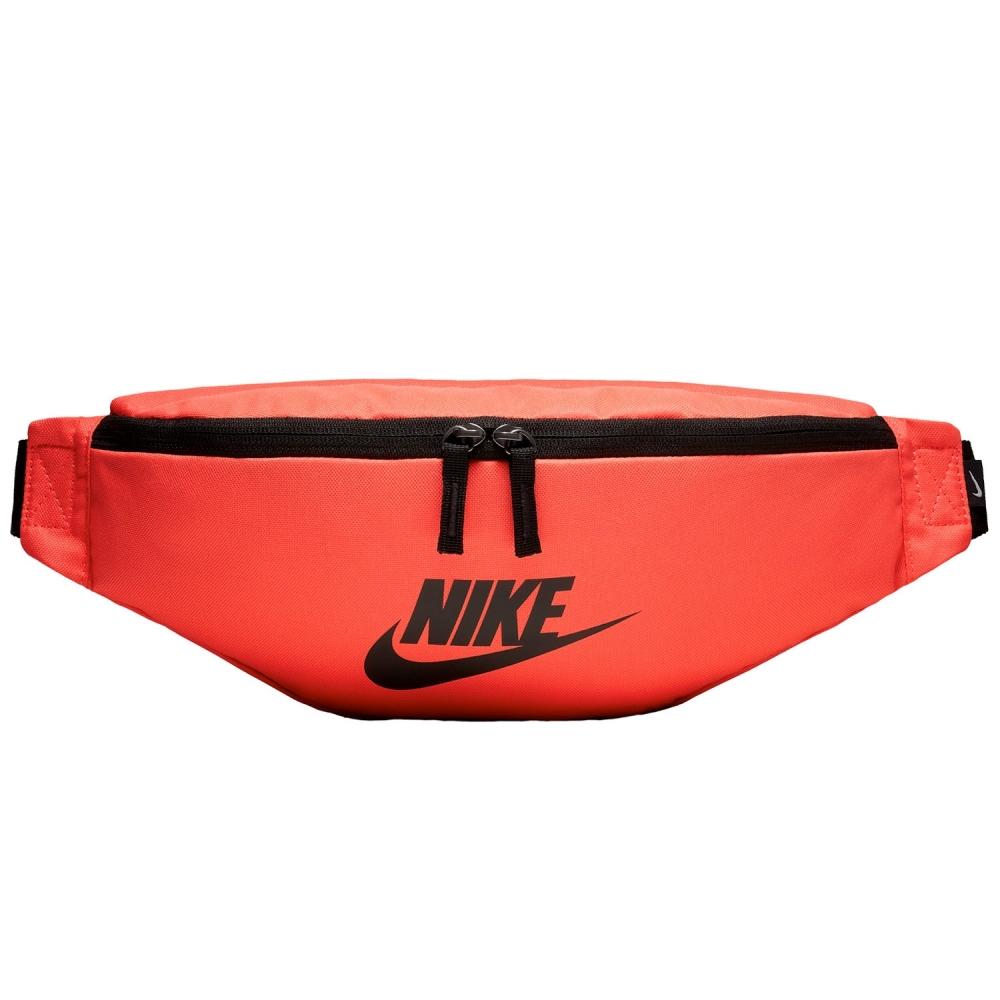 Nike Heritage Hip Pack (Rush Coral/Black/Black)