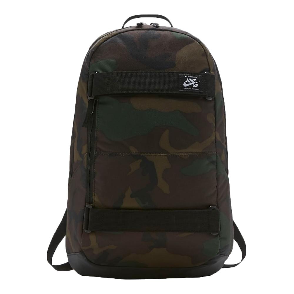 Nike SB Courthouse Skateboarding Backpack (Iguana/Black/White)