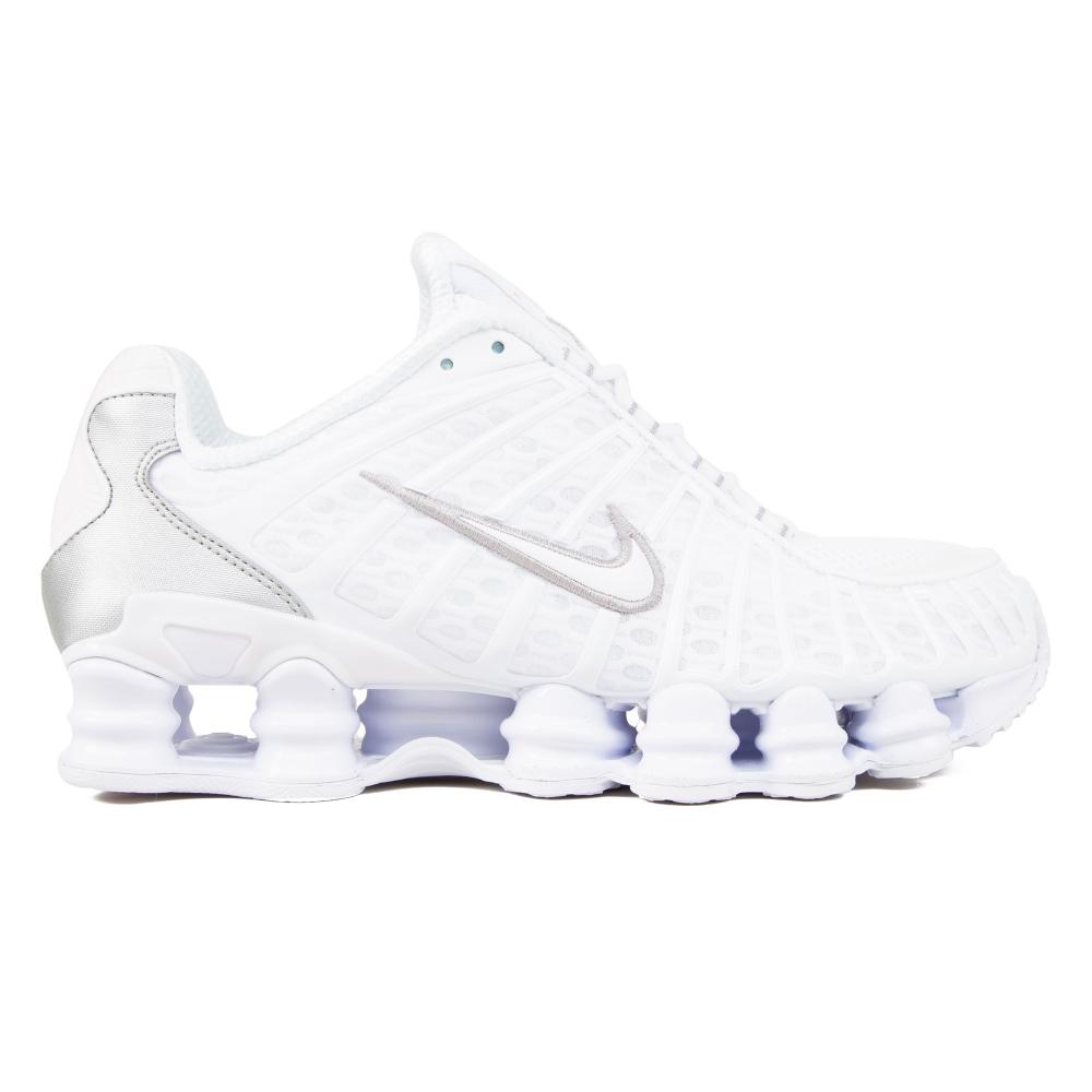 Nike Shox TL 'Metallic Silver' (White/White-Metallic Silver-Max Orange)