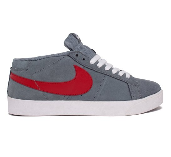 Nike SB Blazer CS (Union Grey/Varsity Red)