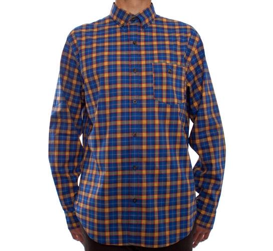 Nike SB Foundry L/S Woven Shirt (Varsity Royal)