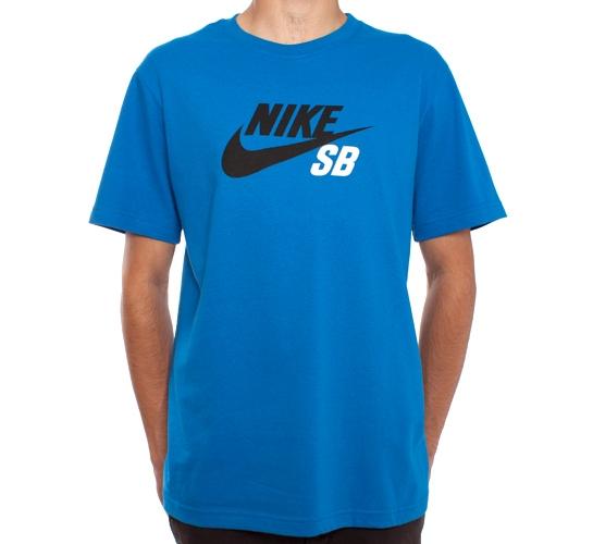 Nike SB Icon T-Shirt (Blue Spark)