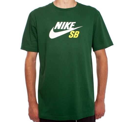 Nike SB Icon T-Shirt (Gorge Green)