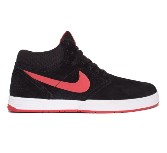Nike SB Paul Rodriguez 5 Mid (Black/Sport Red)