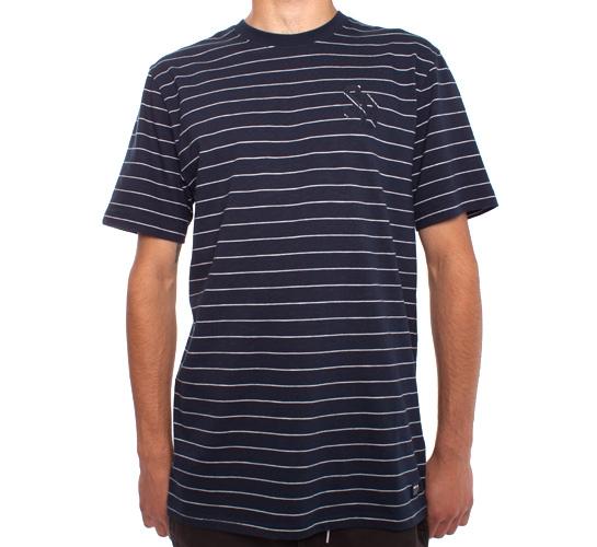 Nike SB Stripes T-Shirt (Obsidian/White)