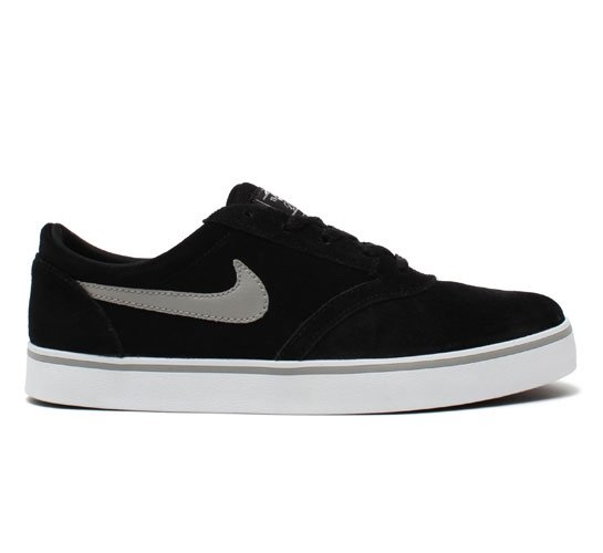 Nike SB Vulc Rod Skate Shoes (Black/Medium Grey)