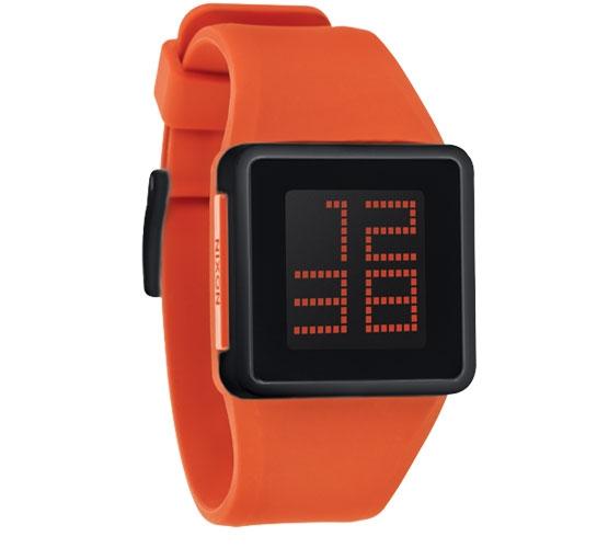 Nixon The Newton Digital Watch (Orange)