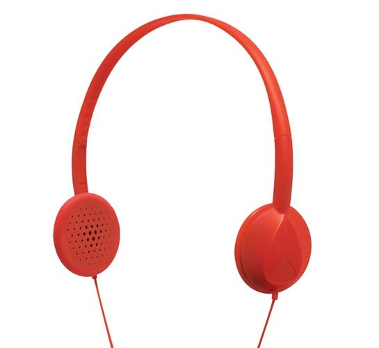 Nixon Whip Headphones (Red)