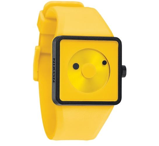 Nixon The Newton Watch (Yellow)