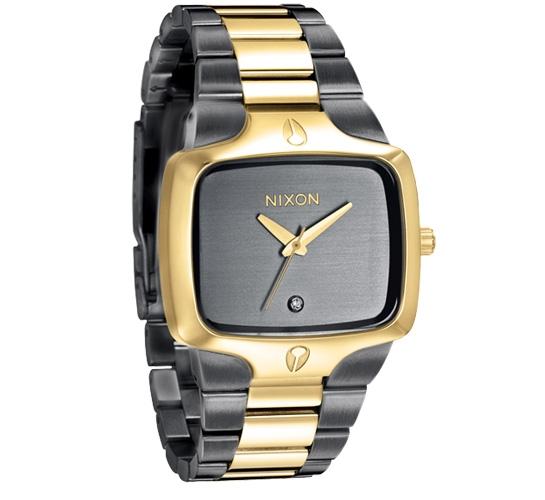 Nixon The Player Watch (Gunmetal/Gold)