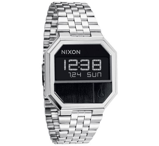 Nixon The Re-Run Watch (Black)