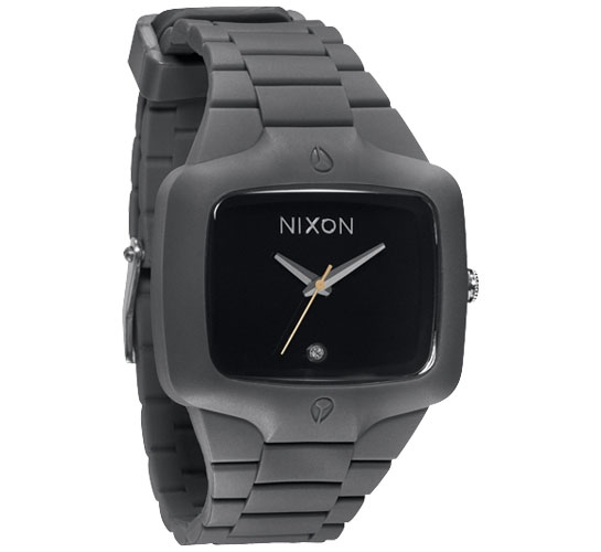 Nixon The Rubber Player Watch (Black)