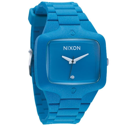 Nixon The Rubber Player Watch (Blue X)