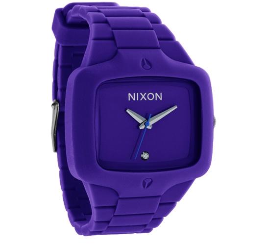 Nixon The Rubber Player Watch (Purple)