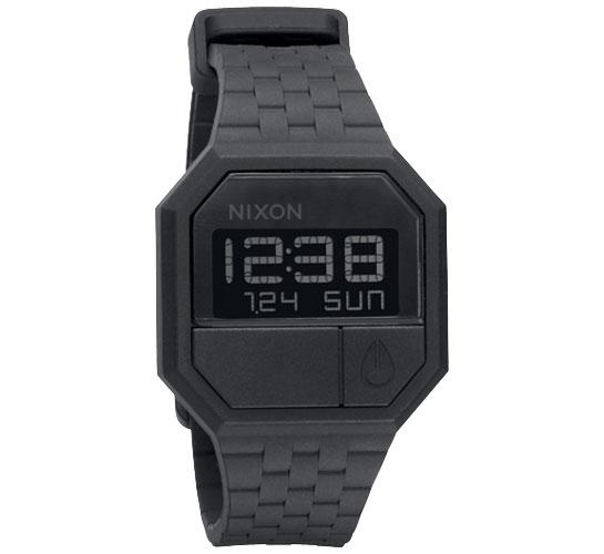 Nixon The Rubber Re-Run Watch (Black)