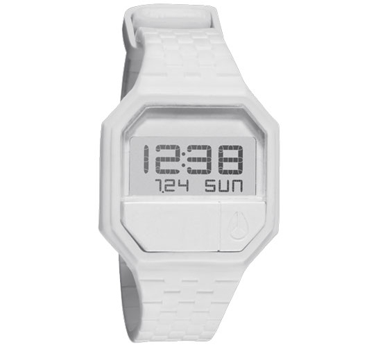Nixon The Rubber Re-Run Watch (White)