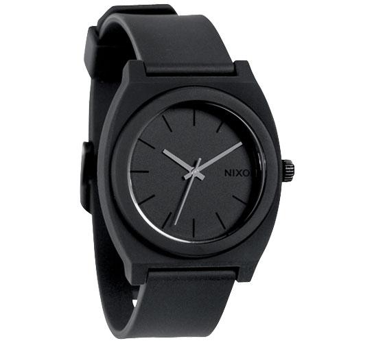Nixon The Time Teller P Watch (Matte Black)