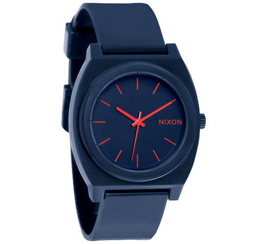 Nixon The Time Teller P Watch (Matte Navy)