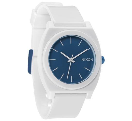 Nixon The Time Teller P Watch (White/Blue)