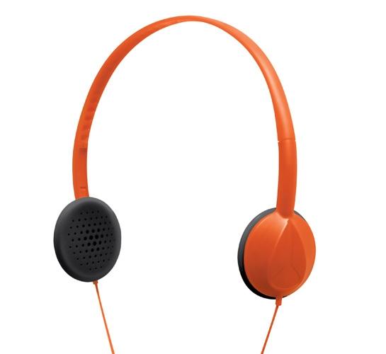 Nixon Whip Headphones (Orange)