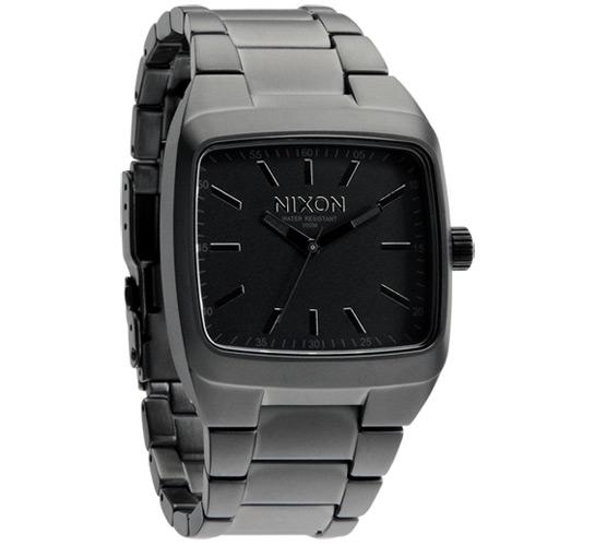 Nixon The Manual II Watch (Matte Black/Matte Gunmetal)