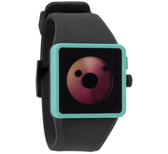 Nixon The Newton Watch (Black/Teal)