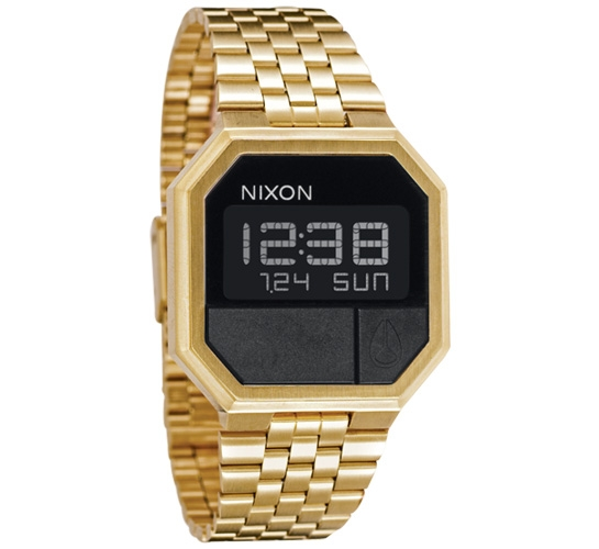 Nixon The Re-Run Watch (All Gold)