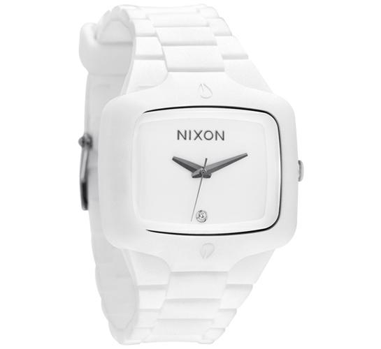 Nixon The Rubber Player Watch (White)