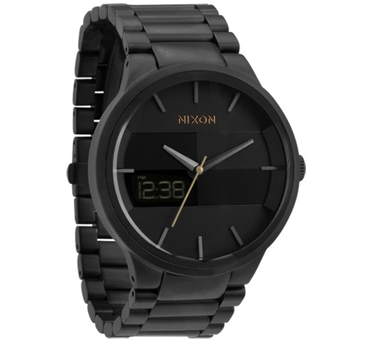 Nixon The Spencer Watch (All Gunmetal/Black)