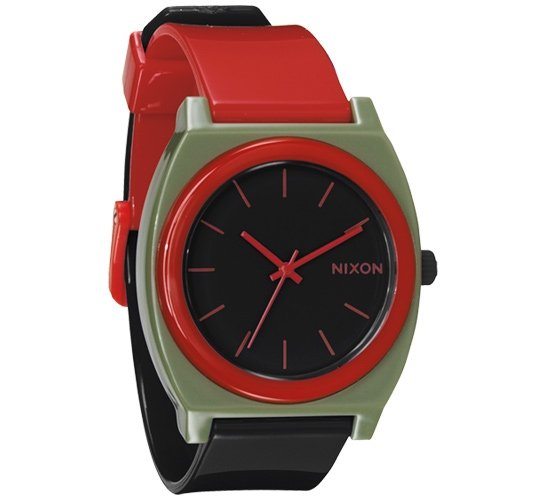 Nixon The Time Teller P Watch (Surplus/Black/Red)