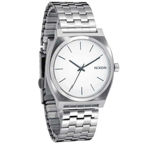 Nixon The Time Teller Watch (White)
